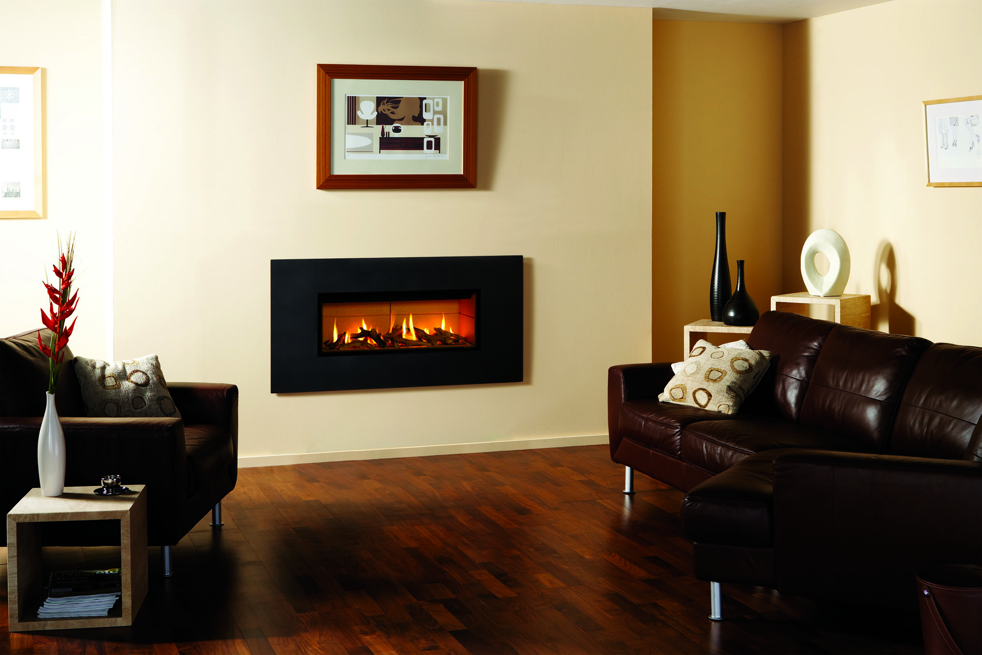 Living Room With A Fireplace Fireplaces In Wakefield Fires Stoves The Living Room